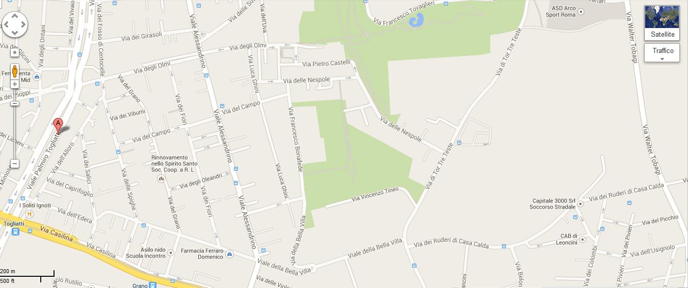 Viale Palmiro Togliatti 584 Centro Casilina